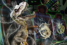 MenoSaurus a seven book dinosaur scifi series
