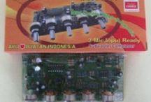 Tone Control Bifet  Stereo efek subwoofer dengan 2 Mic input