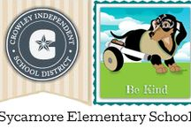 CritterKin Meets Sycamore Elementary School, Texas / The CritterKin mutts are having a great time reading, drawing and learning about kindness with the students at Sycamore Elementary School. Check out our photos!