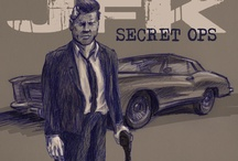 JFK Secret OPS / JFK has survived his assassination and has decided to hunt all those involved in the conspiracy. JFK Secret OPS is Graphic Novel