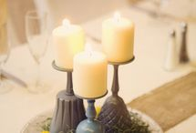 candle table deco