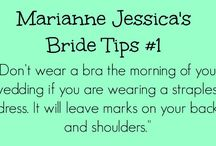 Wedding Tips / Everything you need to know and consider when planning your wedding.