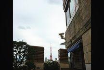 東京タワーが1番奇麗に見える場所。 Here is one of the best view point of The Tokyo Tower. #tokyotower #tokyo #landscape #東京タワー写真
