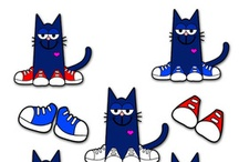 Party Themes--Pete the Cat Birthday / Miah's 6th