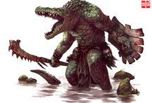 RPG Fantasy - Reptilianos, Nagas e Anfíbios