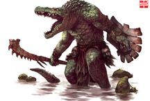 Concept: Crocbarian