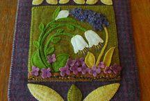 lavori stoffa do lana