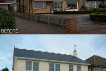 Front house from old to modern