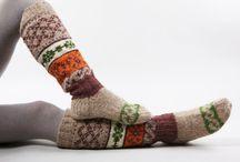 Socks & slippers / by Liz Campbell