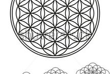 Sacred Geometry images vectors backgrounds