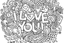 Coloring pages 2 -CLOSED- / #colors, #paint, #coloringpages, #värityskuvat
