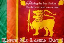 Sri Lanka Day Card