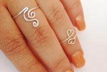 Drôtené prstene