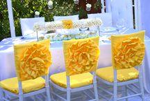 Chaircovers and Tiebacks