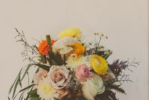 Blomster og dekor.