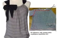 oblečení dyi
