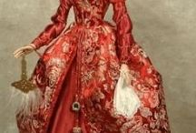 Dolls from the Baroque, Rococo and Empire / historical models of the dolls