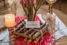 Wedding decor Lace / Lace wedding decor ideas.