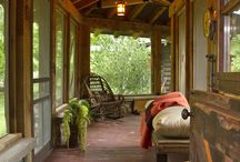 Country life...porches & screen doors
