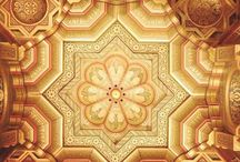 The ceiling of the Arab Room at #Cardiff Castle  #HeathrowGatwickCars.com