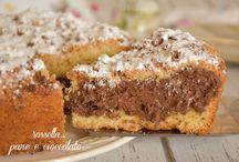 torta cocco e cioccolata