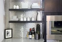 Stainless Steel Tile Installations