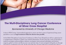 Lung Cancer Conference / A first in Will County. A personalized approach to cancer care from a team of experienced lung cancer specialists so you can begin treatment within the shortest time possible. Call (815) 300-LUNG to get started.