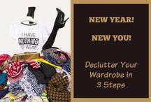 Create a Wardrobe that Works for You / Creating wardrobes that work for you, wardrobe de-cluttering, capsule wardrobe, wardrobe organization