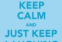 """Keep """"calm"""""""