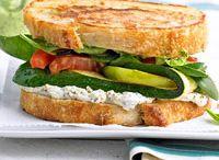 Vegetarian Sandwiches & Burgers  / by Jenna Geiger