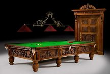 "Fabulous Antique Billiard / Snooker table / ""The Queen Victoria Golden Jubilee Billiard table restored and sold by Billiard Room Ltd"""