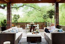 Spaces I Love / Indoor and outdoor rooms