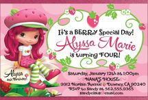 Berry Special Birthday Party - Strawberry Shortcake