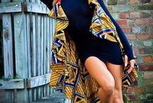 sukienki african