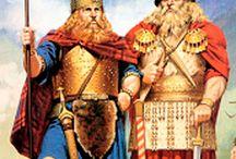 Pueblos de la Hispania prerromana / Antes de la llegada de los romanos a España, Hispania, existían en la península una serie de pueblos. Los más importantes eran Tartessos, Celtas, Iberos y Celtíberos.