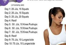 Workout and Fitness TIps + Ideas