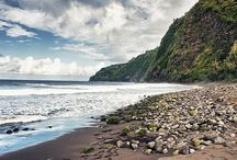 Playas del Pacífico y del Índico / Playas de ensueño que querrás visitar en persona. Desde Hawaii hasta Maldivas!