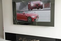 HYMAGE MIRROR TV / HYMAGE designs and manufactures high quality television mirrors for lovers of Technology and Design.