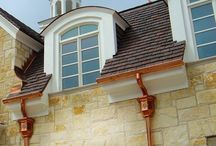 Guttering styles and materials for your property / Here we will show the wide range of guttering materials and styles available to you.
