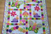 childrens applique quilt
