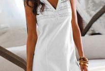 White fashion/Móda v bílé barvě / Móda