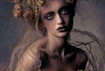 Dark beauty photography