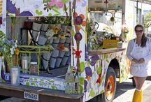 Flowers truck