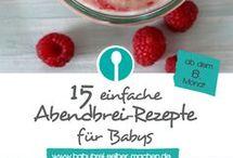 Rezepte für Kleinkinder