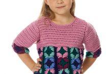 CROCHET-KIDS clothes & accessories / Kids clothes, hats, etc. / by Susan Bertucci