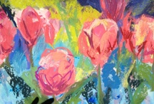 My Paintings Of Blossoms And Flowers
