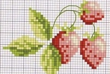 Fruits and Vegetables Cross Stitch