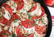 Lunch caprese quinoa / Vegetarisch