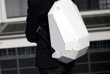 Futurist backpack.