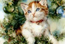 Vintage Cat Cards, Ads & Stuff / by KitKat